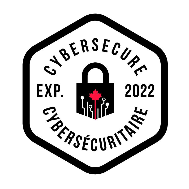 Cybersecure certification badge